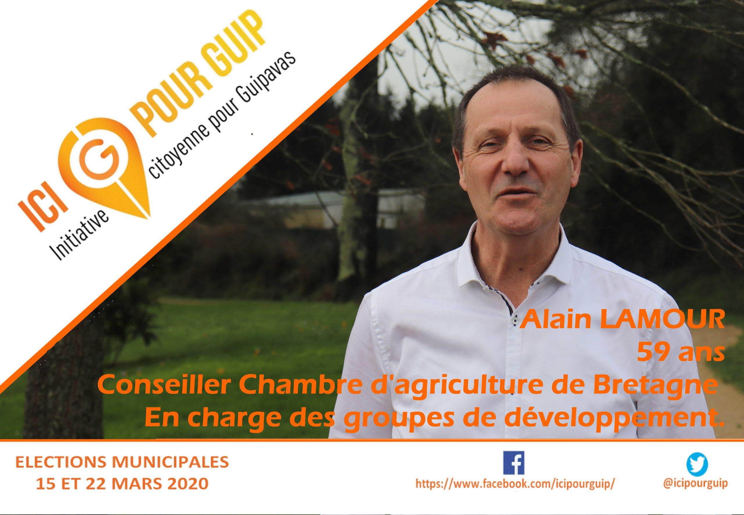 Alain Lamour